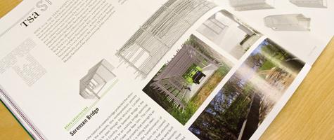 Sorensen Bridge featured in Texas Architect Magazine