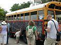 Chalk Board Bus