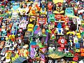 Toy Cars Close Up