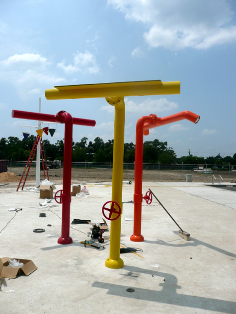 Houston Texans YMCA Project Update © BRAVE / ARCHITECTURE