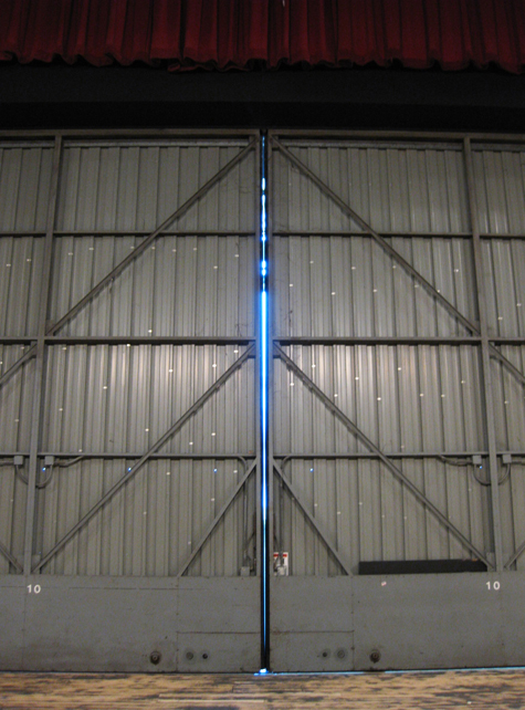 Pics of the Week Symmetry ::: Stage Doors © Andrew Turner, AIA