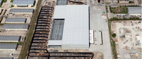 Tube Supply Warehouse Houston Texas by Houston Architecture Firm BRAVE ARCHITECTURE
