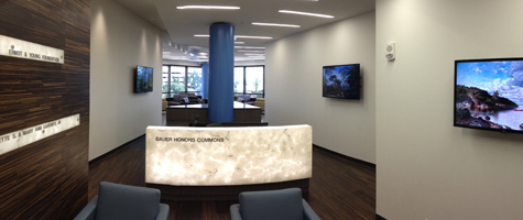 UH Bauer Honors Commons Grand Opening