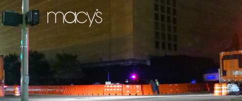 Downtown Macy's Implosion