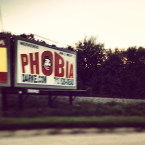 Phobia© Christian Sheridan AIA A Photo of a Billboard in Houston Texas by Christian Sheridan AIA of Brave Architecture Houston Texas Architecture Firm