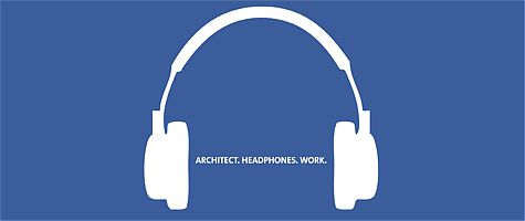 ARCHITECT. HEADPHONES. WORK.