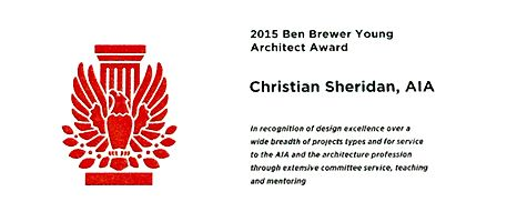 Congratulations :: Ben Brewer Young Architect Award
